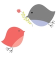 background with birds vector illustration vector image vector image