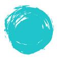 brush stroke circle shape vector image