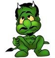Green Devil vector image