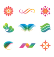 Set of spa and beauty logos icons and elements vector image