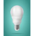 Energy saving light bulb vector image