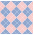 Rose Quartz Serenity Diamond Chessboard vector image