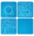 Blueprints vector image vector image