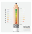 Education And Learning Infographic vector image