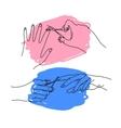 cut nails vector image