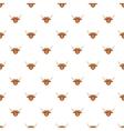 Bull head pattern cartoon style vector image
