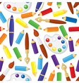 pen pattern vector image vector image