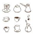 Coffee Accessories vector image
