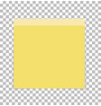 post note paper sheet or sticky sticker on vector image