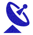 antenna icon grunge watermark vector image