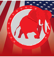 Republican vector image