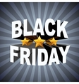 Background of Black Friday sales vector image