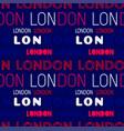 london city pattern vector image