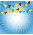 Party Flag Background EPS 10 vector image