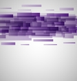 Abstract purple rectangles technology background vector image