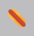 hot dog icon oktoberfest festival concept vector image