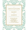 Invitation to the wedding or announcements vector image