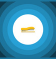 isolated stapler flat icon supplies vector image