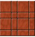 Reddish polished stone tiles texture vector image