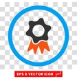Award Seal Eps Rounded Icon vector image