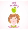Eat healthy Diet vector image