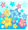 flower decorative vector image