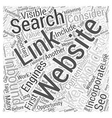 Why Internet Marketing Does Not Work Without SEO vector image