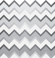 grey and white chevron pattern vector image