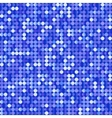 Seamless background with shiny blue paillettes vector image