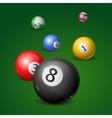 Billiard Balls vector image