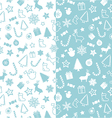 Christmass seamless pattern vector image vector image