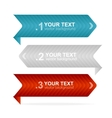 colorful text box 123 concept vector image