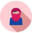 Woman with Niqab vector image