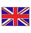 Great britain flag icon cartoon vector image
