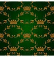 Seamless pattern with crowns vector image vector image