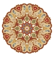Ornate eastern mandala vector image