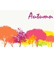 Abstract Autumn Natural Background vector image vector image