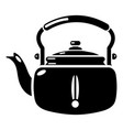 kettle break icon simple black style vector image