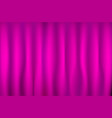 pink curtain texture for background vector image
