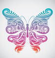 Decoration Butterfly Rainbow vector image vector image