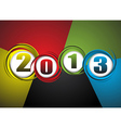 New Year theme abstraction vector image
