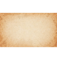 Realistic dirty brown cardboard stained texture vector image