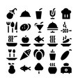 Food Icons 11 vector image