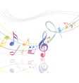 Musical Design vector image