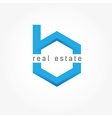 Real Estate design template vector image