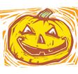 Smiling Jack-o-lantern vector image vector image