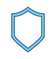 badge security emblem vector image