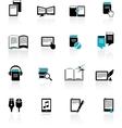 E-book audiobook vector image