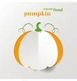 Creative Pumpkin vector image vector image