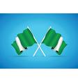 nigeria flag vector image
